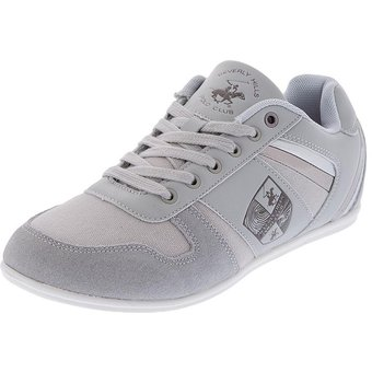 Compra Zapatos Tenis Beverly Hills Polo Club Gris online  25283d5ddb2