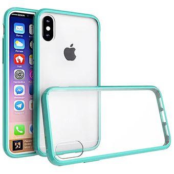 92b27e7b85b Compra Funda Case Iphone Xs / X Acrílico Transparente TPU - Menta ...