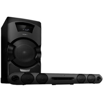 Equipo Mini Sony HCD-GT3D 720w Con Bluetooth Usb Y DVD