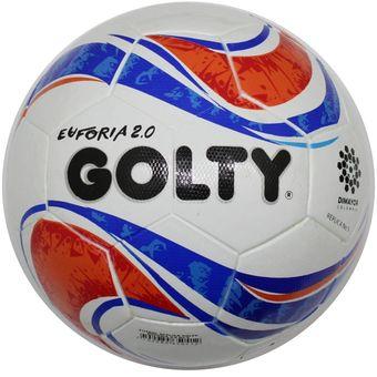 c7e0cf7aeaa5e Compra Balon Futbol   5 Golty Euforia 2.0 Replica T656353 - Blanco ...