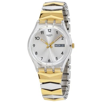 Compra Reloj Swatch Tresorama GE707B Para Dama-Dorado Y Plateado ... 14f7ff65e83c