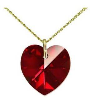 b0964589a0a0 Compra Collar Mujer Corazón - Rojo Con Crystals From Swarovski ...