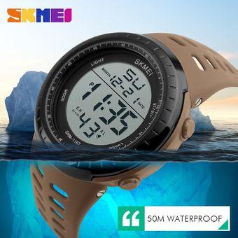 la mejor actitud b36fa a7256 Relojes para hombre SKMEI, reloj Digital resistente al agua de 50 m, =