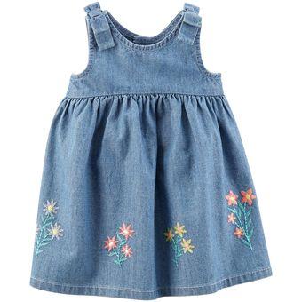 22538ed6f3 Compra Vestido Denim Carter´s Para Bebé Niña - Denim online