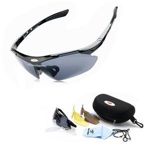 4b87dd1a8 ROBESBON Bicicleta Polarizada Profesional Ciclismo Gafas De Sol De Deportes  UV400 3 Lentes