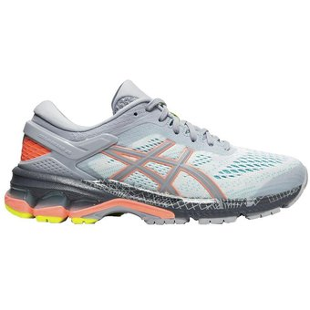 asics mujer gris y rosa