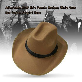 216e8a82d2776 Compra EY Camello Sombrero De Vaquero-Marrón online