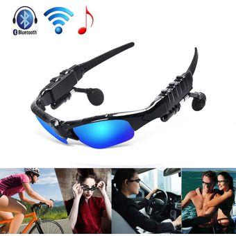 bajo precio 42008 a32dc Gafas de Sol Polarizadas Bluetooth Auriculares Estéreo Gafas de Sol  Inteligentes (Azul)