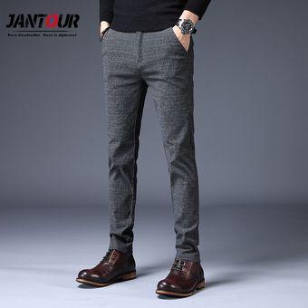 Pantalones Informales De Verano Para Hombre Pantalones Rectos Ajustados Pantalones Elasticos De Moda Para Hombre Talla 28 38 Blue Linio Peru Un055fa0xt4zplpe
