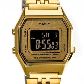 eee099e177ad Compra Reloj CASIO Vintage LA680WGA-9 Digital Retro-Dorado online ...