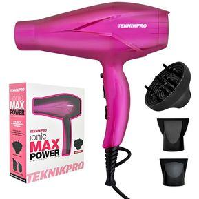 Secador Pelo Profesional Ionic Max Power Teknikpro 40455ae9f5b1