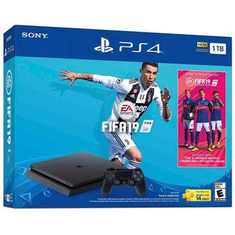 Ps4 Playstation 4 Nueva 1 Tera + 1 Joy + Fifa 19 Gtía Año