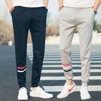 d6123fc6e4a7 Hombre Pantalones Largos Buzos De Estilo Casual Y Comodo Color En Gris