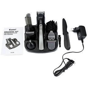 KEMEI KM-600 Cortapelos Multifuncional Afeitadora Eléctrica Cabello Negro  Barbero 4fba4477cf5b