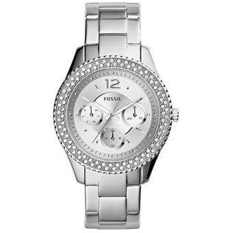 7f4b870a0061 Compra Reloj Fossil Plateado Stella ES3588 - Mujer online