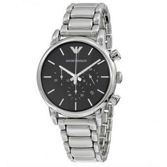 6b7cbb09c30d Compra Reloj Emporio Armani AR1853 -Plateado Con Negro online ...