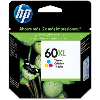 Cartucho HP 60XL-Tricolor
