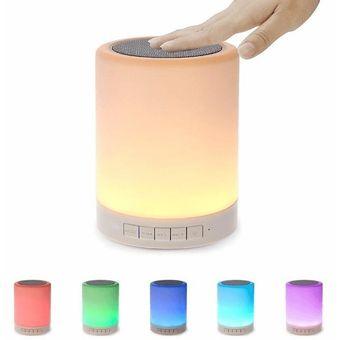 Lampara Al Luz Parlante Tacto Bluetooth OP08wXnk