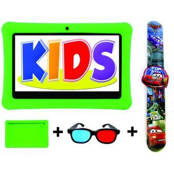63ac681490 Agotado Tablet + Reloj + Cubierta Silicona + Gafas 7 Pulgadas Android Verde