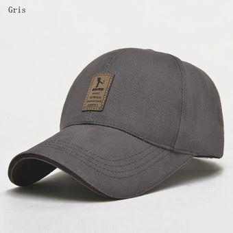 05da18d9c28e5 Compra Gorras De Béisbol Para Hombres Y Mujer Sombrero De Sol-Gris ...