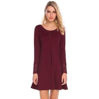 b49b8c3bf Compra Vestido Yucheer Rojo de vino online