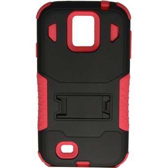 63b166243a3 Agotado Funda Armor Combo Original OHR, Samsung I9190 Galaxy S4 mini con  Mica y Funda negra