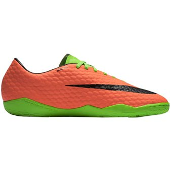 huge selection of 6245f 2de03 Agotado Zapatos Fútbol Hombre Nike HypervenomX Phelon III IC -Verde Con  Naranja
