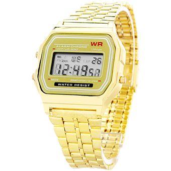 540318bd2809 Agotado Reloj Blackmamut A168 Retro Digital Resistente Al Agua Diseño  Exclusivo Incluye Estuche Blister - Dorado