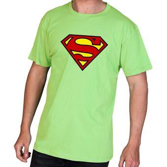 Compra Polo manga corta - D Nuñez - Superman - Verde manzana online ... c137b0d30ce3