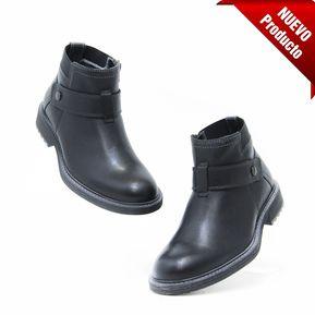 b968ba557e3f4 Bota Flexi 95004 Caballero Comodos Originales - Negro