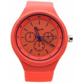 bc04191cc8a0 Agotado Reloj Analogico Goma Mujer G Kipuy - Naranja