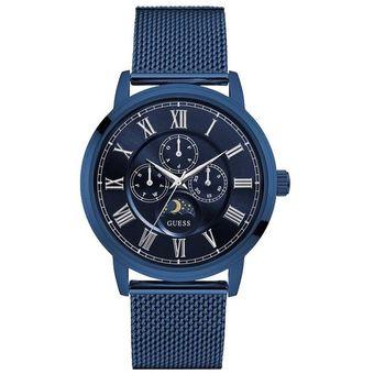 Guess Caballero Para W0871g3 Delancy Reloj Azul xsQhCtrdB