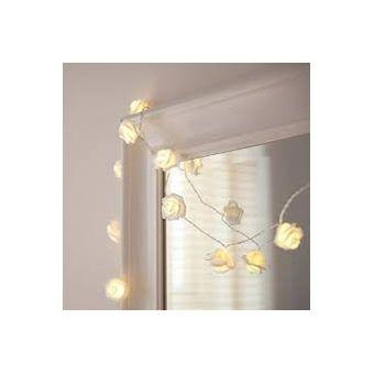 87ab90f9b54 Compra Guirnalda 20 luces LED Rosas Blancas a Pilas online