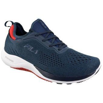 Zapatillas Fila Running Hombre Lite Scale Azul - Rojo