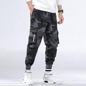 Pantalones De Joggers Para Hombre De La Marca Pantalones Cargo De Camuflaje Para Hombre Pantalones De