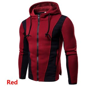 Hombre Polera Hoodies Abrigo Fashion-Cool-rojo 3f5b589c3342