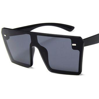 discapacidades estructurales primer nivel vende Gafas de sol cuadradas retro de montura grande para mujer-C1