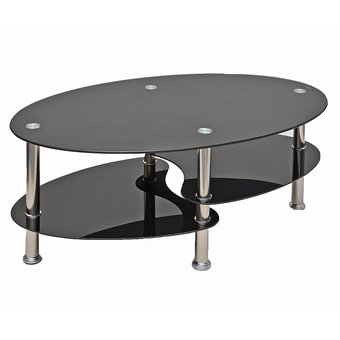 Compra mesa de centro en vidrio templado 8 mm y 6 mm armable patas cromada online linio colombia - Mesas de centro de vidrio ...