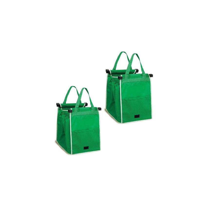 acde48cb0 Pack 2 x Bolsas ecológicas para supermercado cuida el medioambiente - Talla  Única