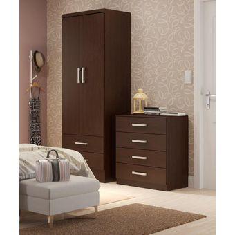 Compra ropero closet bertolini 599 2 puertas 2 cajones for California closets mexico