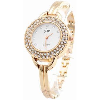 b84e8d5ce6f6 Agotado BLACKMAMUT Reloj Para Mujer Correa Tipo Pulsera Correa De Metal Color  Bronce Contorno Con Incrustaciones De