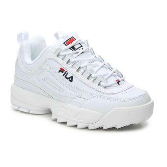 15c3c968c2a2 Ii Disruptor Blanco Fila Premium Mujer Zapatillas mNnv0w8
