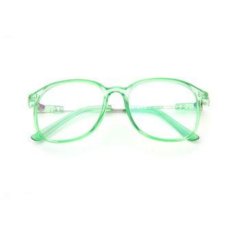 d05e4d1802 Retro Full Frame Gafas De Optica (Frame Color: Verde Transparente)