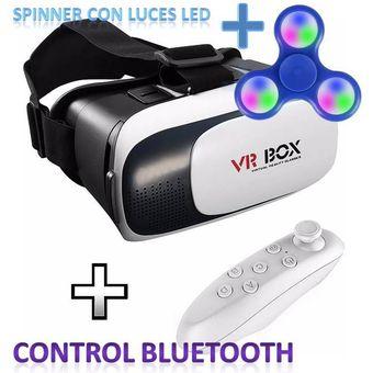 Lentes De Realidad Virtual 3D VR Box Con Control Remoto – Joystick