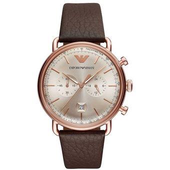 0f4086436c78 Compra Reloj Emporio Armani Caballero AR11106 - Cafe oscuro online ...