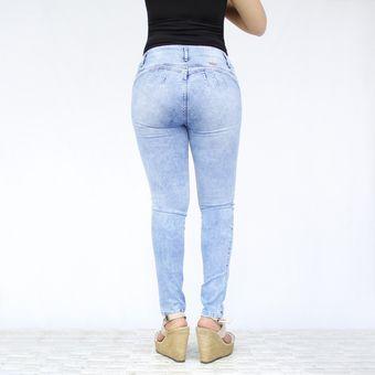 Pantalon Denim Para Mujer Ice Moteado Esthefany Linio Peru Ta177fa0py3yelpe