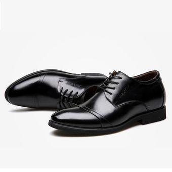 87f8c65665f59 Compra Zapatos de vestir hombre plantilla alta - Negro online ...