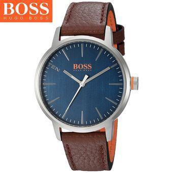 11c17211a868 Agotado Reloj Hugo Boss 1550057 Copenhagen Acero Inoxidable Correa De Cuero  - Marrón Azul