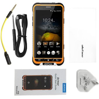 4,7 Pulgadas ULEFONE ARMOR 1280*720 HD 3GB De RAM 32GB ROM Octa Core Smart Phone Orange