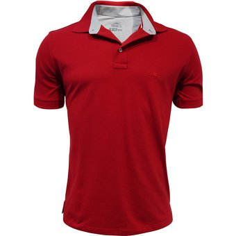 Compra Playera Polo Atletica Básica - Rojo online  f6df1a1a884